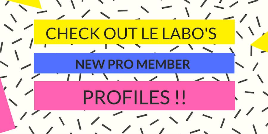 Check out Le Labo's New Pro Member Profiles