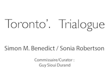 Artist residency : Toronto'. Trialogue