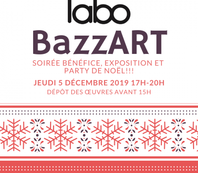 BazzART – fundraiser, exhibition and Christmas party!