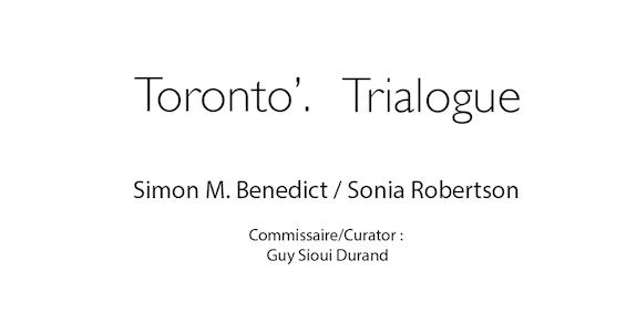 Toronto'Trialogue - 465 x