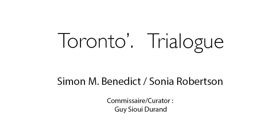 Toronto'Trialogue