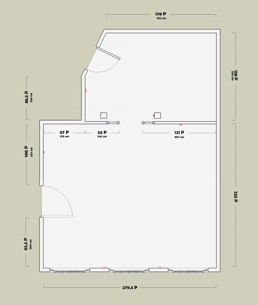 Plan des locaux du Labo - Sarah Delignies