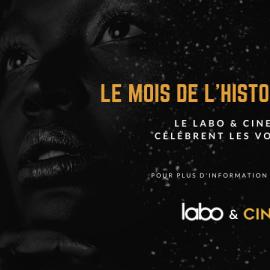 LE LABO & CINEMAWON, CÉLÈBRENT LES VOIX NOIRES !