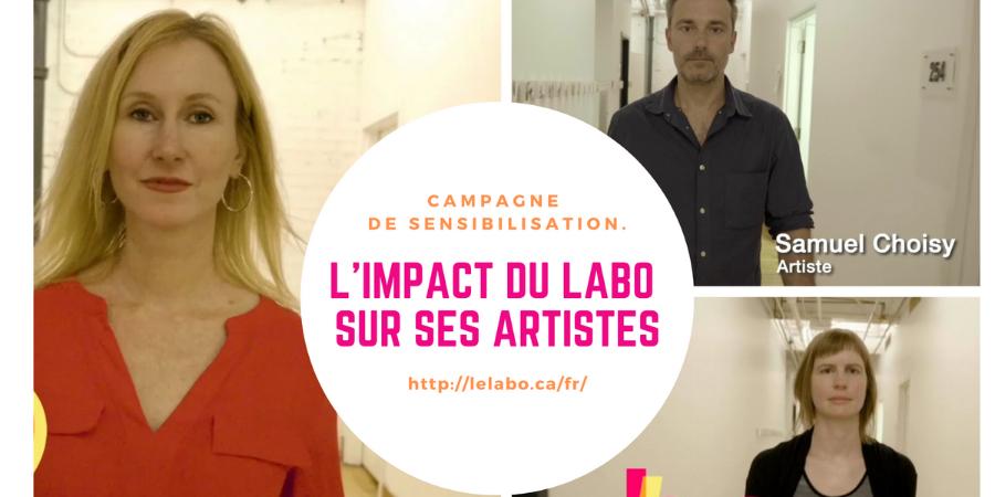 L'impact du Labo sur les artistes