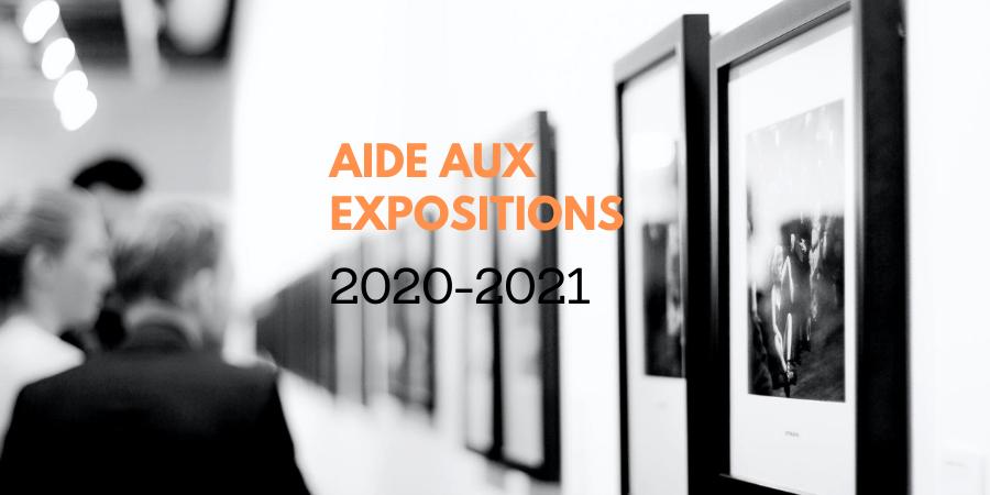 L'AIDE AUX EXPOSITIONS DU CAO
