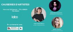 CAUSERIES D'ARTISTES – LE LABO.